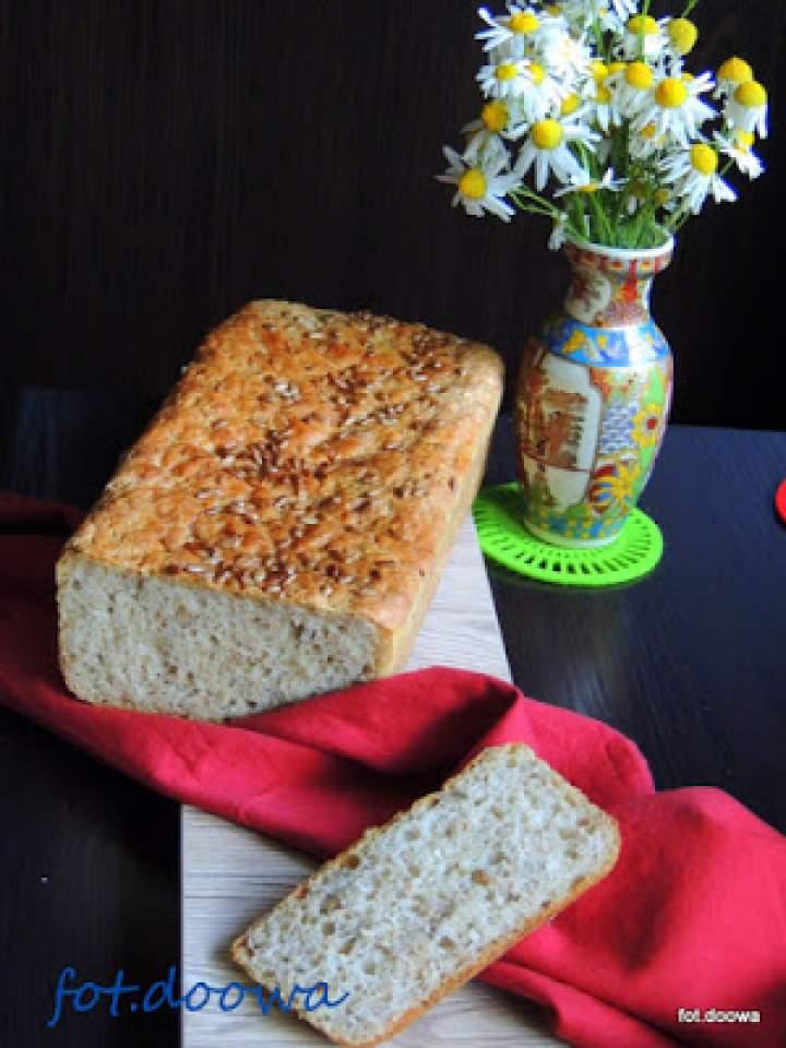 Chleb pszenny ze słonecznikiem