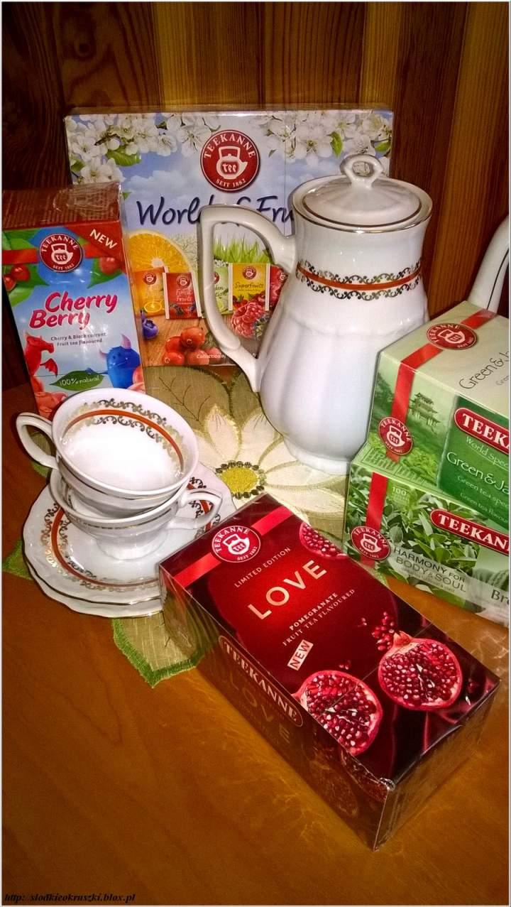 Aromatyczny świat herbat. Poznajmy razem nowe smaki. Dalsza współpraca z Teekanne.