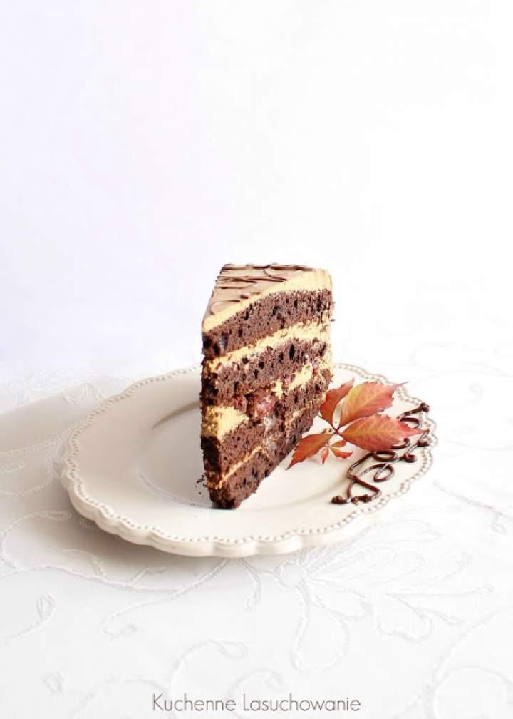 Tort czekoladowy cappucino