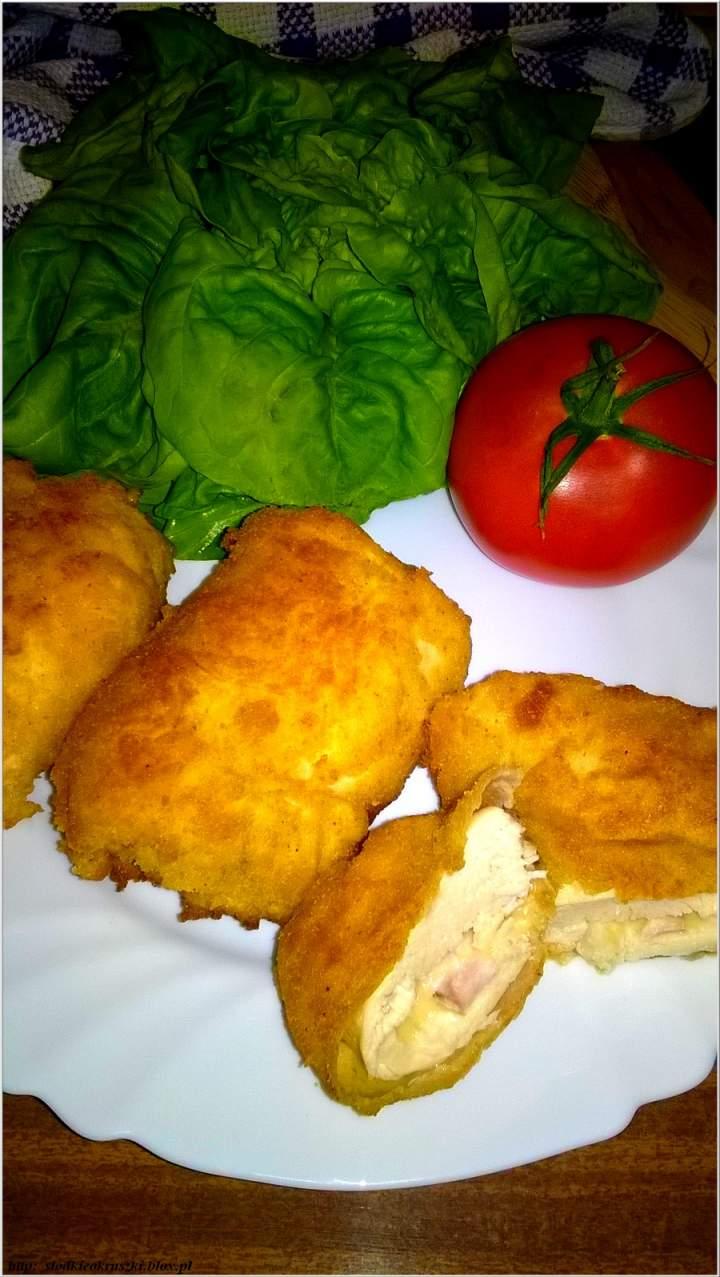 Roladki z piersi kurczaka z serem i wędliną. Obiad w 20 minut.