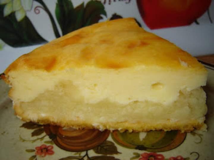 Torcik jabłkowo- serowy