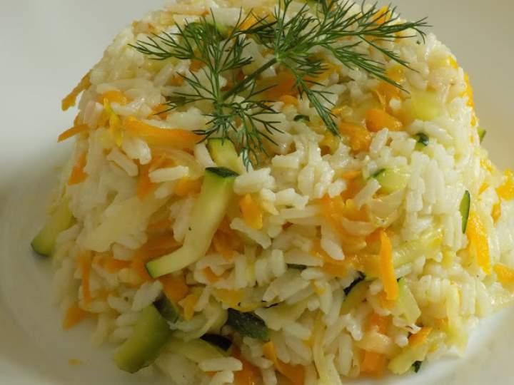 Ryż z cukinią i marchewką