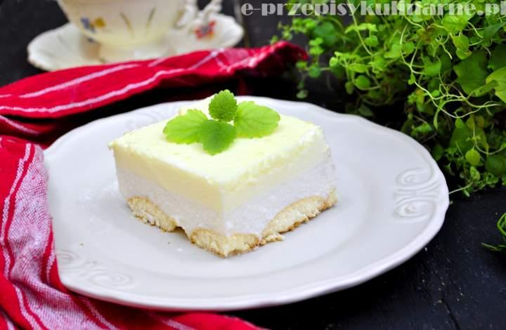 Sernik na zimno z melonem (210 kcal)