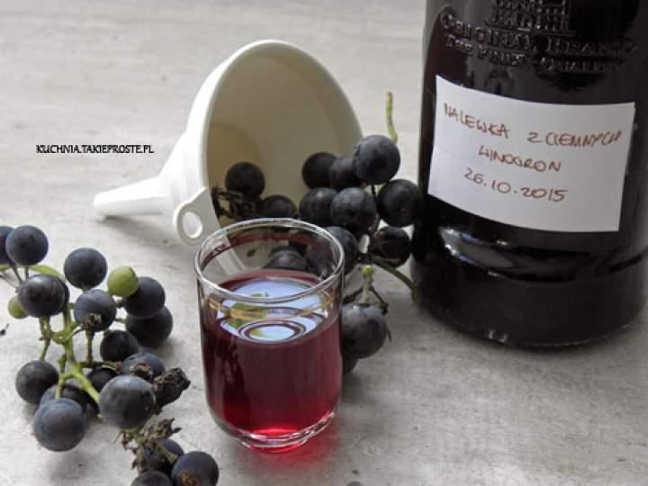 Nalewka z ciemnych winogron – część 3