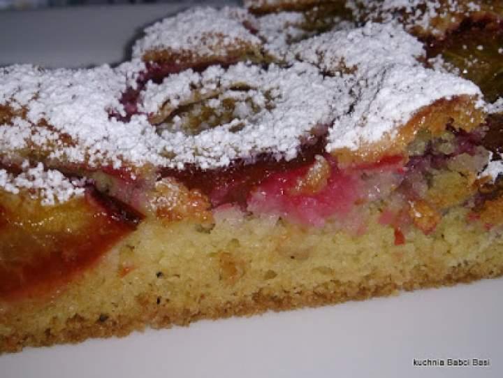 ciasto ze ślwkami