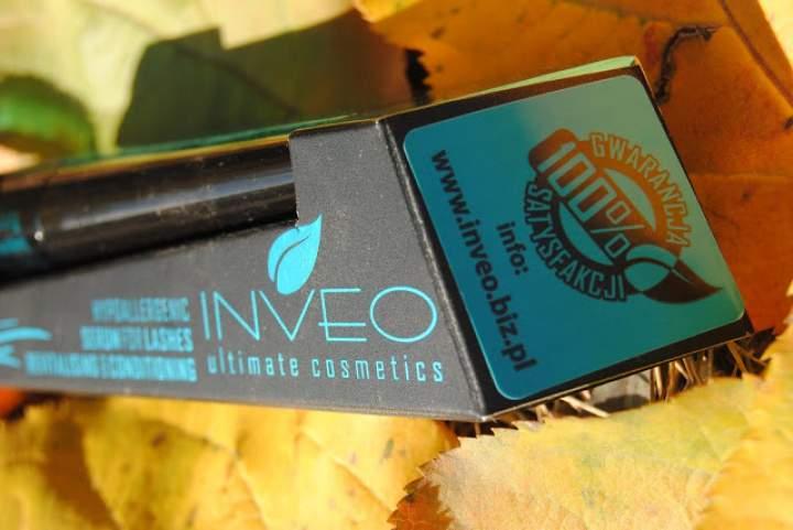 Długie, gęste i zalotnie podkręcone? Początek akcji z serum Inveo.