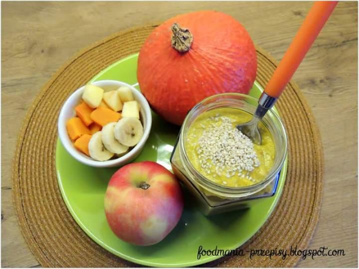 dynia + konopie + sezam + jabłko + banan