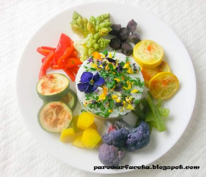 Ryż z warzywami na parze