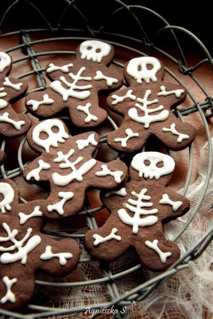 Halloweenowe ciastka