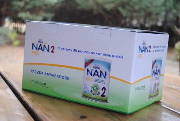 Coś dla najmłodszych- mleko modyfikowane Nestle Nan Pro2