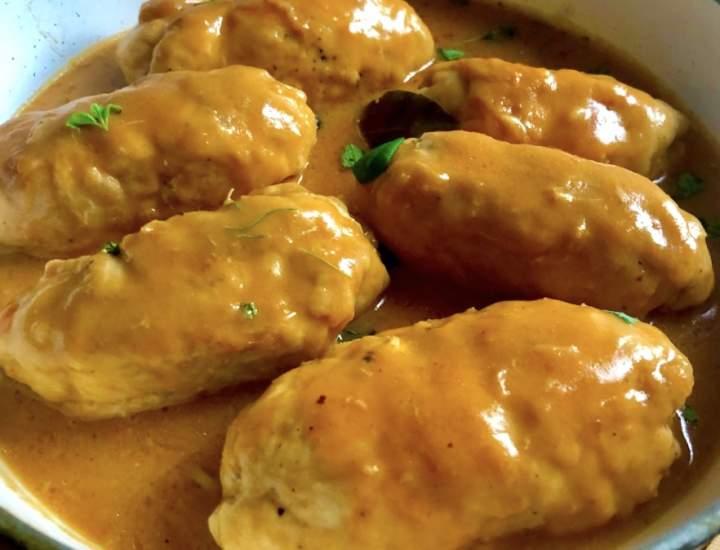 Faszerowane roladki z kurczaka