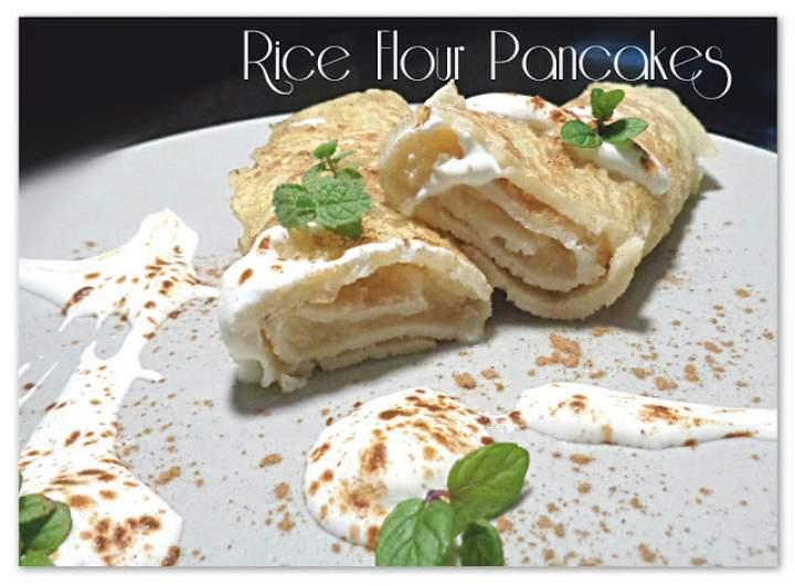Marmolada z jabłek i naleśniki z mąki ryżowej – Apple Marmalade and Rice Flour Pancakes
