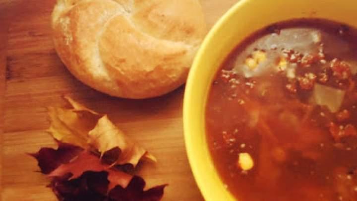 Jesienna zupa meksykańska
