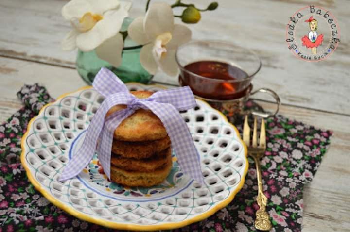 Migdałowe ciasteczka z patelni