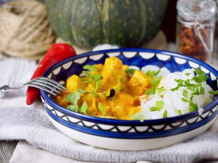 Szybkie curry z łososiem / Easy salmon curry