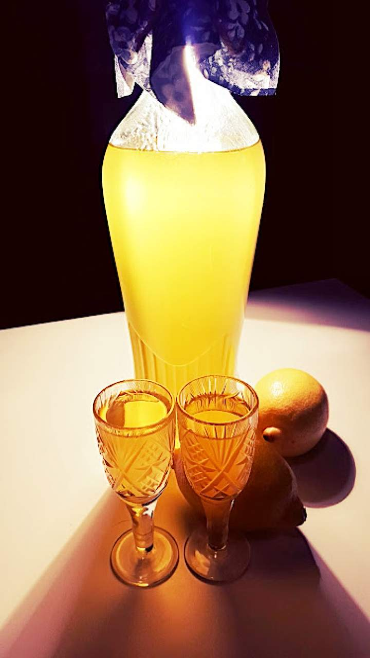 Limoncello – likier cytrynowy