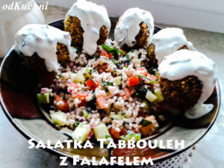 Sałatka Tabbouleh Z Falafelem
