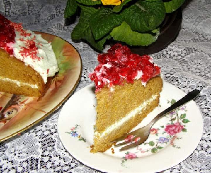 pyszne ciasto z mrożonej dyni…