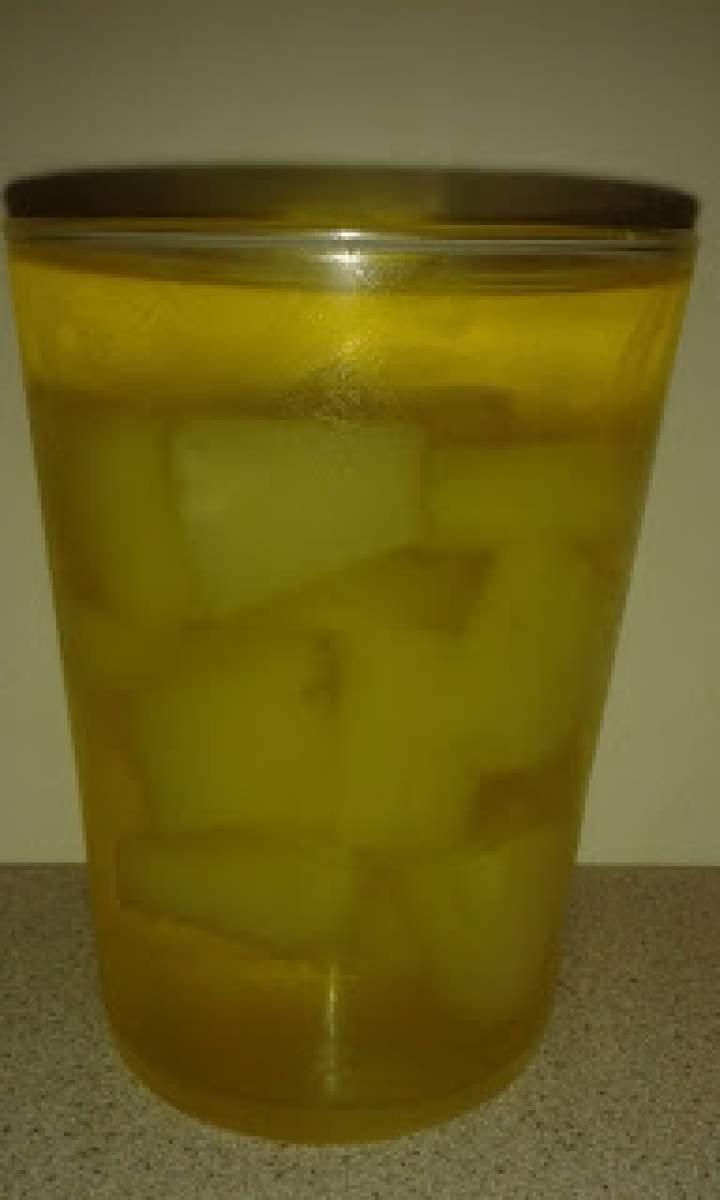Galaretka z ananasem