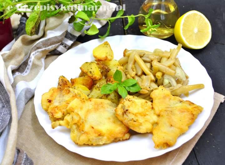 Ryba w cieście majonezowo-cytrynowym
