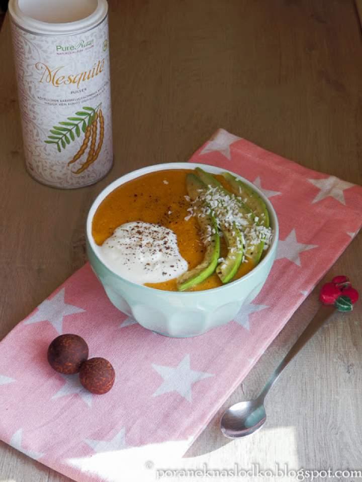 Budyń dyniowy z quinoa i… jadłoszyn!