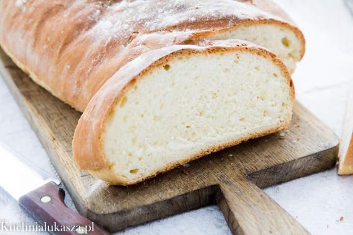 Prosty chleb pszenny