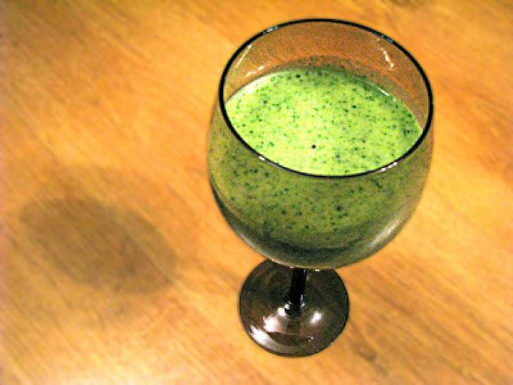 Soczysto-zielone smoothie