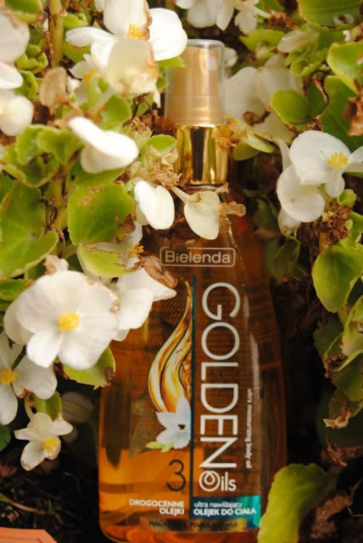 Olejek do ciała- 3 drogocenne olejki od Bielendy