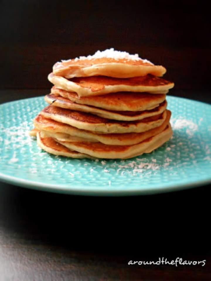 Pancakes na mleczku kokosowym