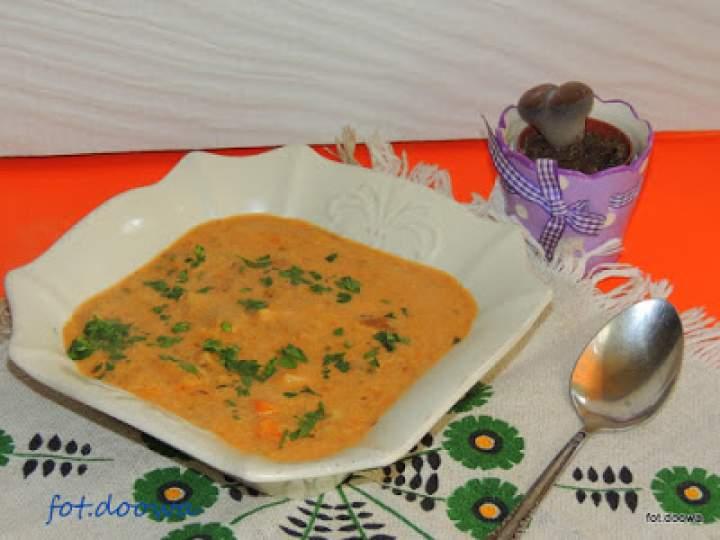 Zupa z bakłażanów