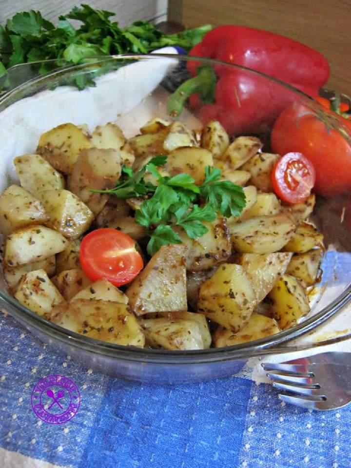 Pieczone ziemniaczki z oregano