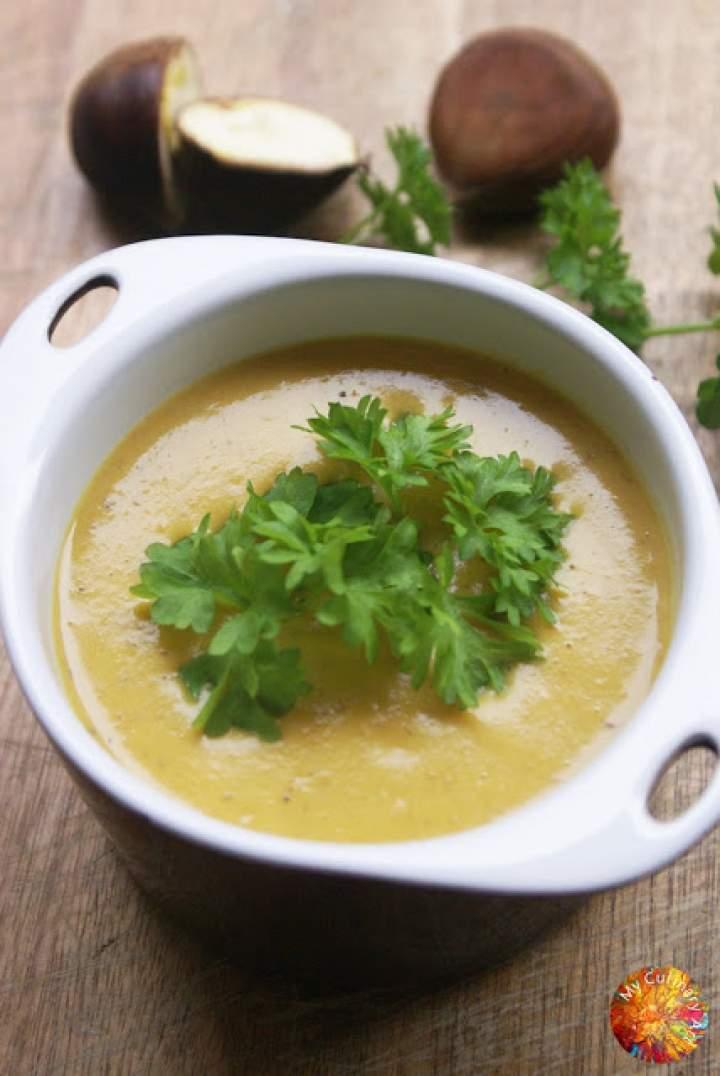 Zupa – krem z kasztanów