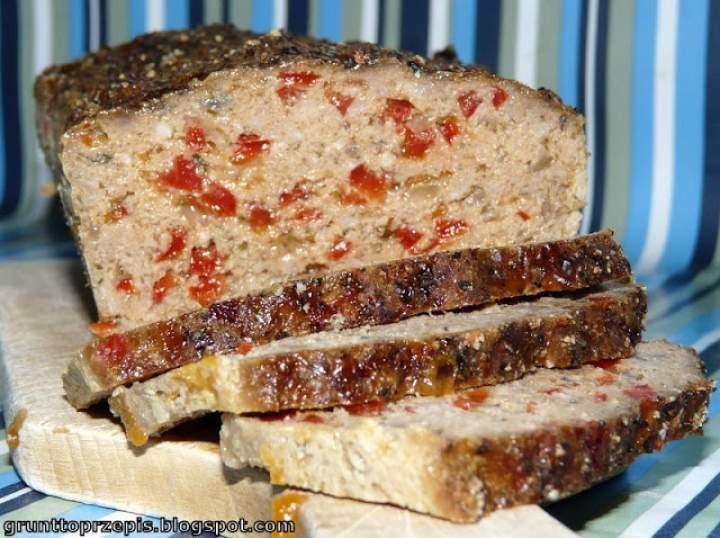 Pieczeń wieprzowa z czerwoną papryką