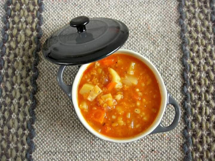 Wegetariańska zupa z soczewicą – łatwa i smaczna