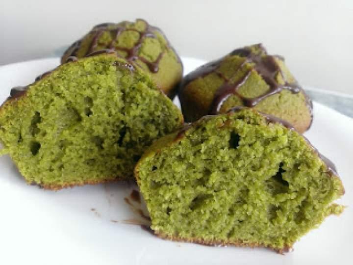 Muffiny z herbatą Matcha
