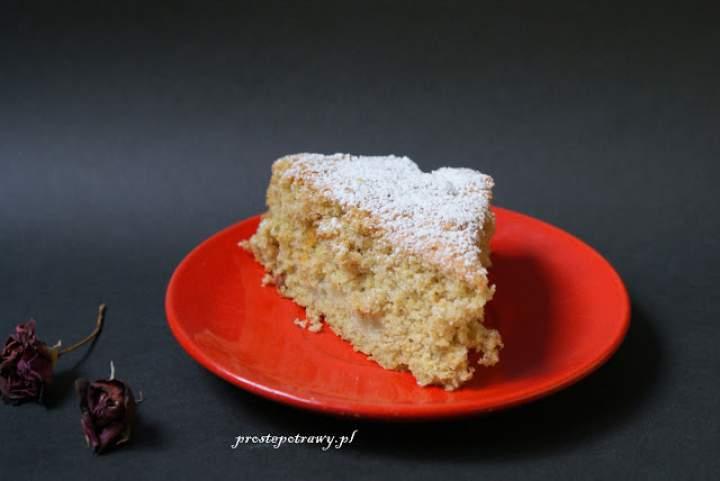 Ciasto biszkoptowe z zarodkami pszennymi
