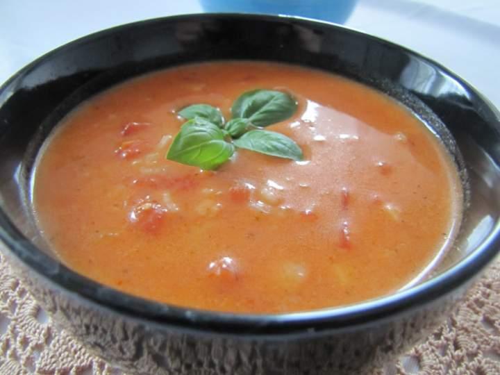 Jak Pan może Panie pomidorze, czyli zupa pomidorowa
