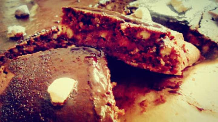 Ciasto piankowe z colą i czekoladą
