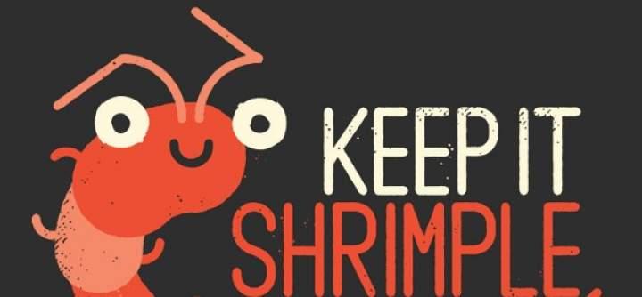 O czym będzie blog Smiling shrimp?