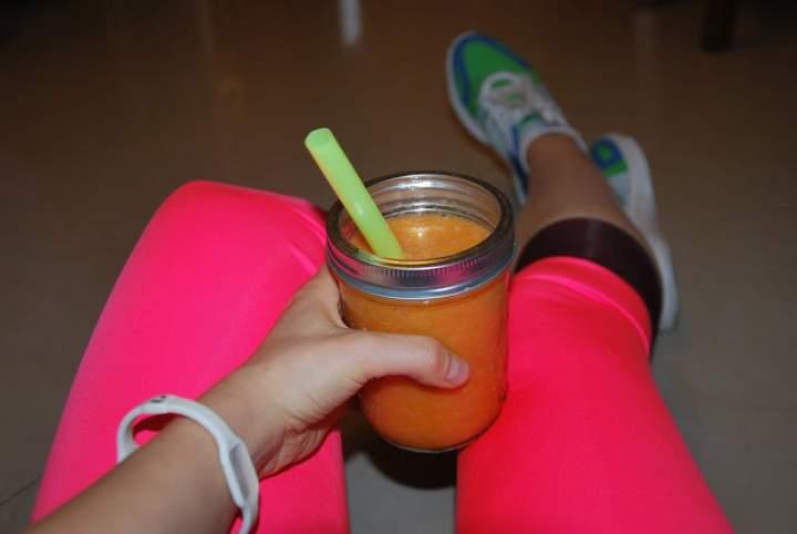 dynia + banan + pomarańcza + chilli + maca + konopie