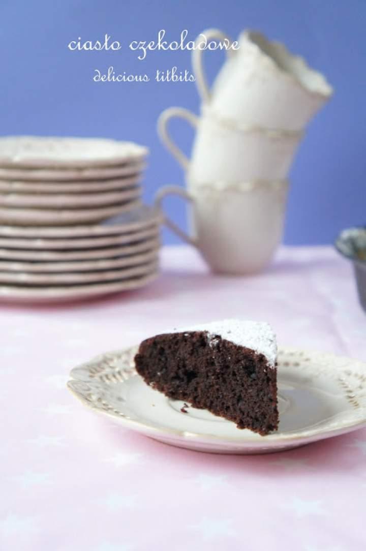 Ciasto czekoladowe z burkami