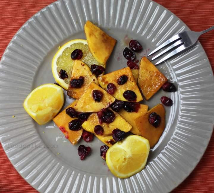 Dynia piżmowa, pomarańcze i żurawina… Trójca święta, za którą jestem wdzięczna w to Święto Dziękczynnienia