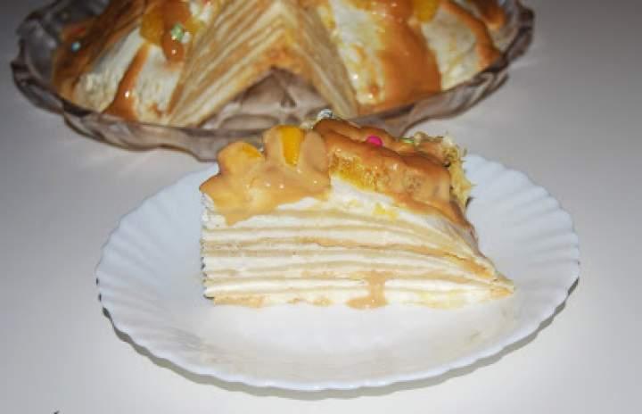 Tort naleśnikowy kajmakowy