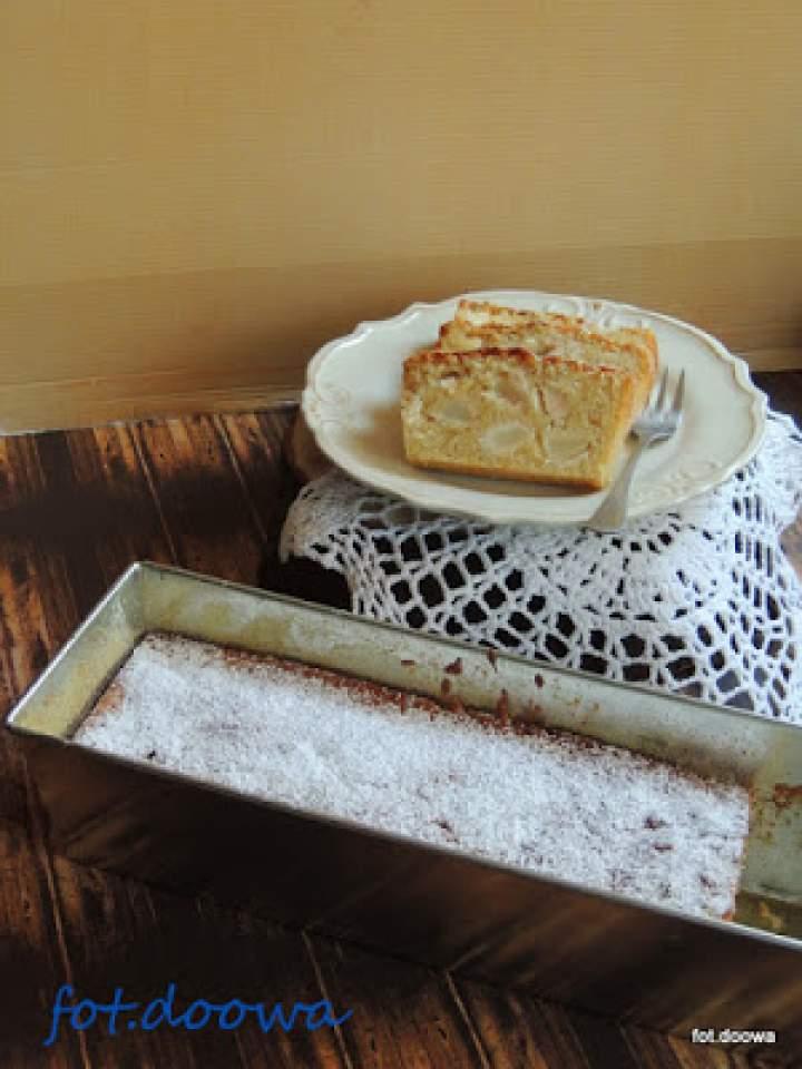 Ciasto z jabłkami i imbirem
