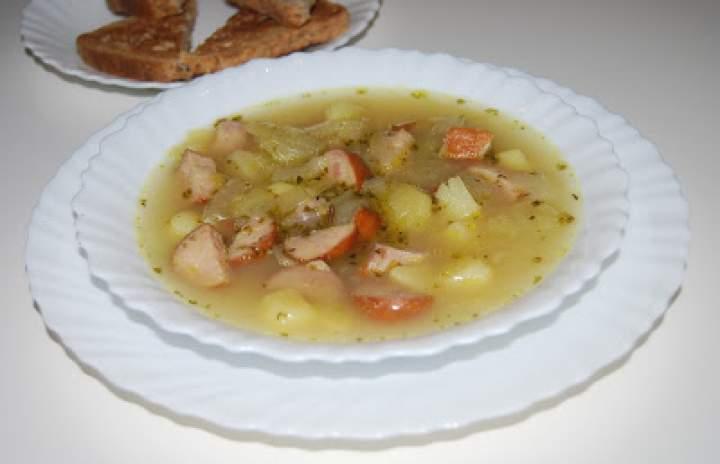 Zupa cebulowa po wiejsku