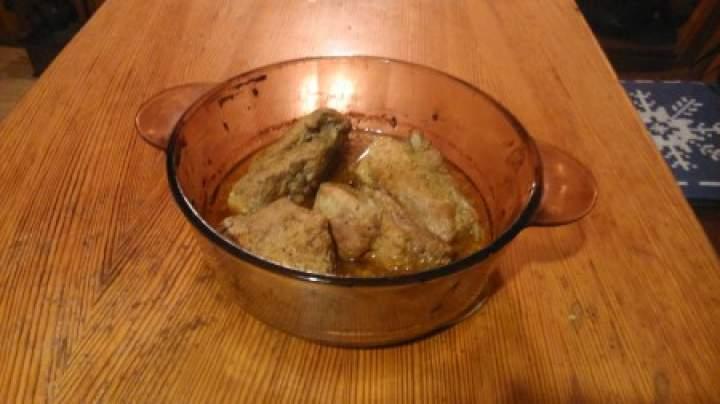żeberka marynowane pieczone w piekarniku