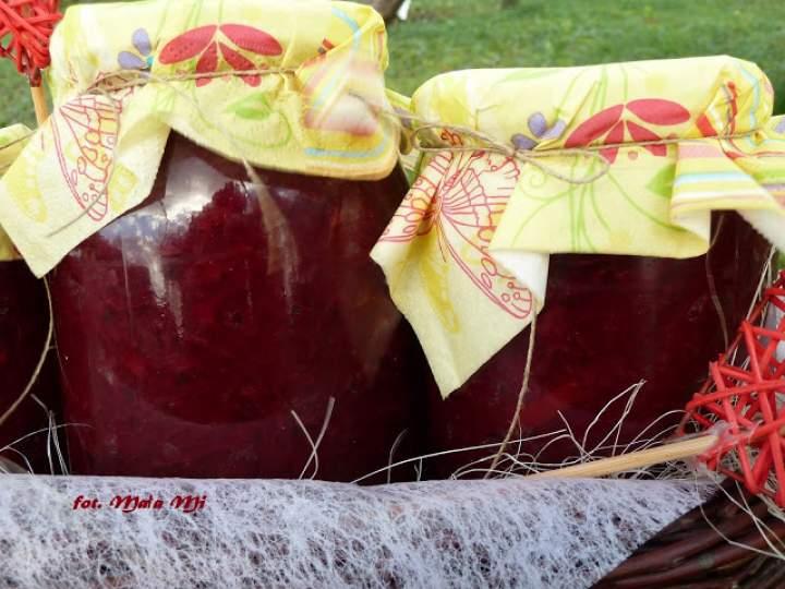 Buraczki z papryką i cebulą ( w słoiki)