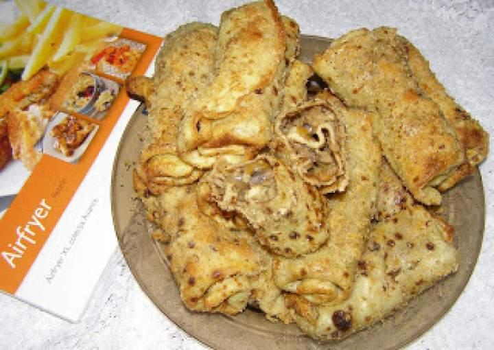 chrupiące, domowe krokiety kapuściano-pieczarkowe: Airfryer hd9240/30