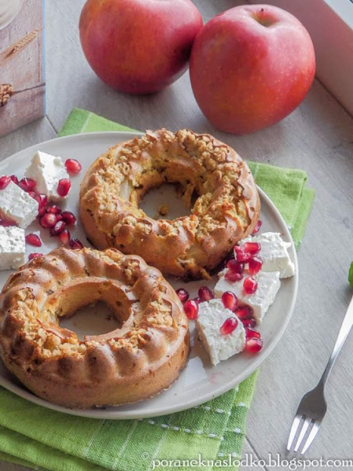 Owsiane babeczki z jabłkiem na powitanie grudnia!