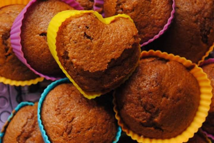 Muffinki delikatnie bananowe